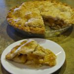Grandma's Flaky Crust Fresh Peach Pie