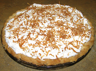 Sugar-Free Coconut Cream Pie Recipe