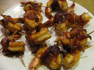 Bacon-Wrapped Grilled Shrimp Recipe