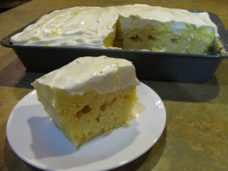 Sugar-Free Triple Lemon Cream Cake Recipe
