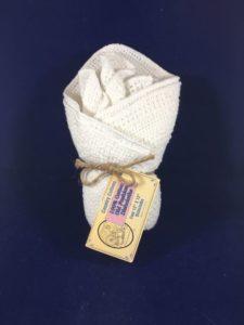 White Dish Cloth 4 Pack