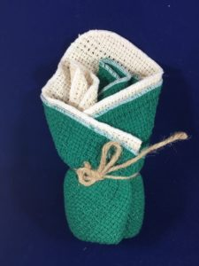 Green Dish Cloth 4 Pack