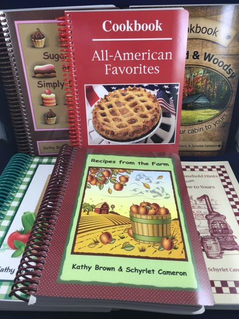 Red Rooster Cookbooks