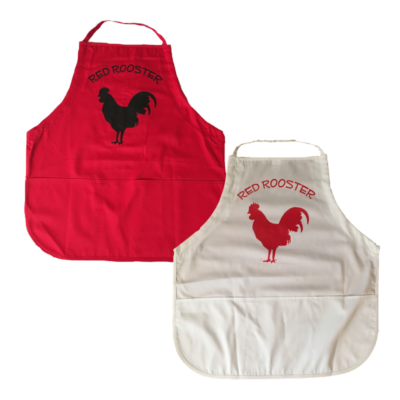 Red Rooster Apron Options