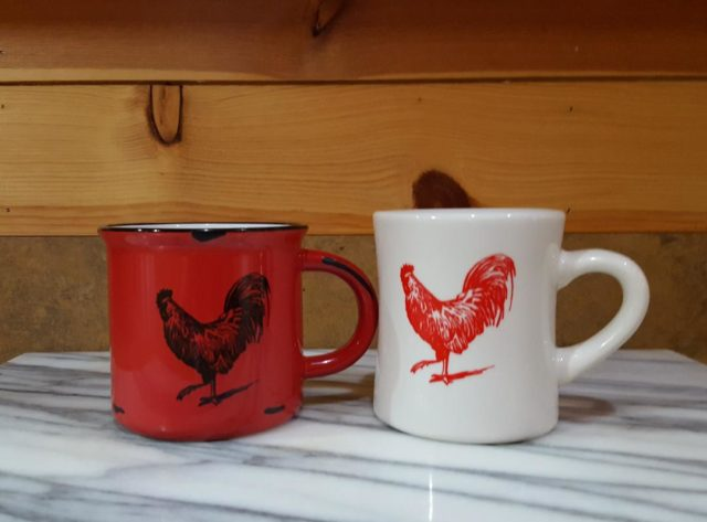 Website-Red and White Cup