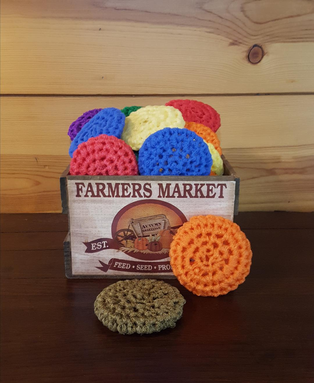 Pot Scrubbers Red Rooster Cookbooks