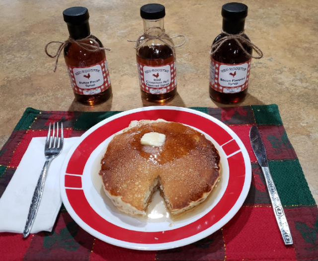 Gourmet Syrups From Red Rooster