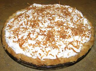Sugar-Free Coconut Cream Pie Recipe