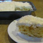 sugar-Free coconut Cream Cake recipe