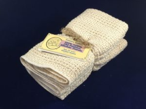 Tan Old Fashioned Country Dish Towel 2 pack